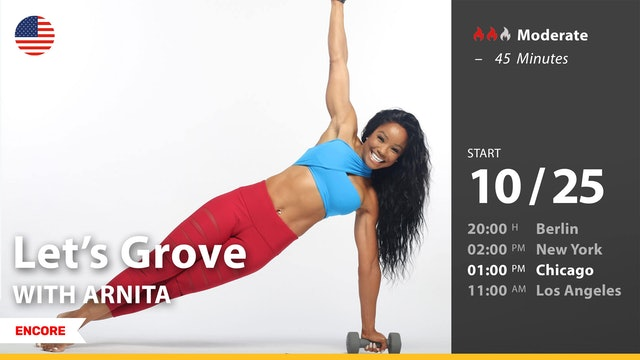[ENCORE] Let's Grove | 10/25/21 | Arnita