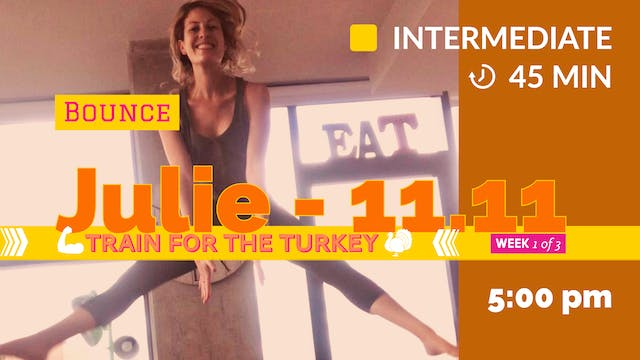 TRAIN for the Turkey: Week 1 | 11/11/...