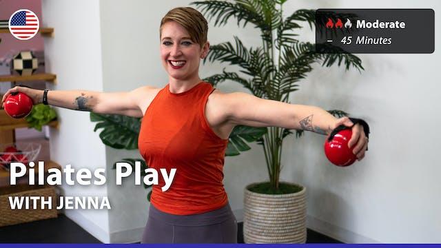 Pilates Play | 8/23/21 | Jenna