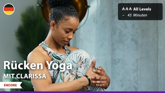 [ENCORE] Rücken Yoga   8/19/21   Clarissa