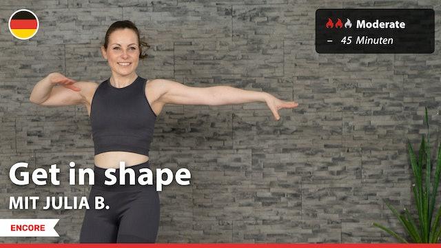 [ENCORE] Get in shape | 10/22/21 | Julia B.