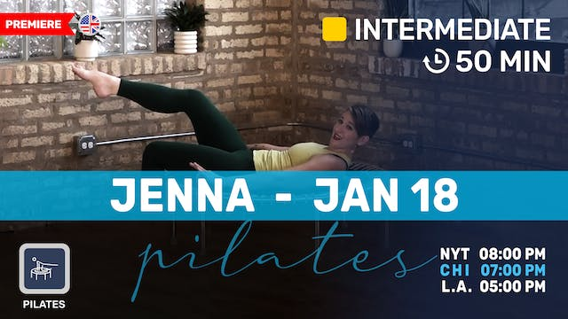 Pilates Meets Bounce | 1/18/21 | Jenna