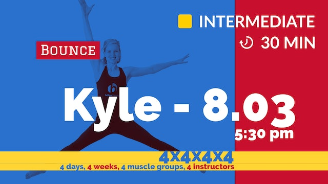 4x4x4x4 Challenge: Week 3 - Strong Abs Flat Belly | 8/3/20 | Kyle