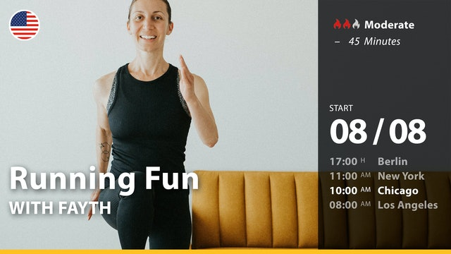 [PREMIERE] Running Fun   8/8/21   Fayth