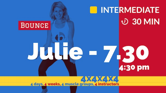 4x4x4x4 Challenge: Week 2 - Defined Arms | 7/30/20 | Julie
