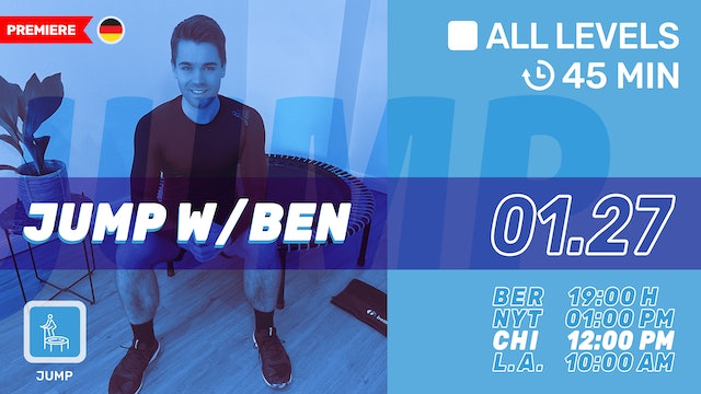bellicon® JUMPING FITNESS | 1/27/21 | Ben