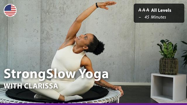 StrongSlow Yoga | 9/17/21 | Clarissa