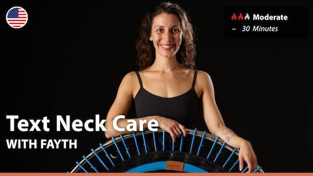 Text Neck Care | 3/23/21 | Fayth
