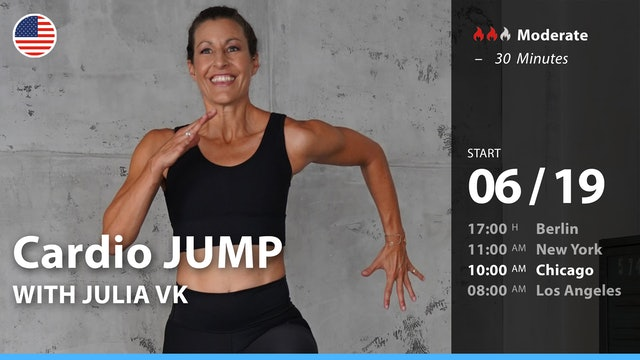 [PREMIERE] Cardio JUMP | 6/19/21 | Julia vK.