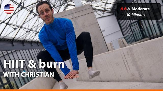 HIIT & burn | 4/30/21 | Christian