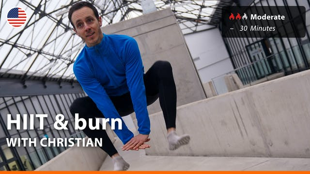 HIIT & burn | 4/30/21 | Christian