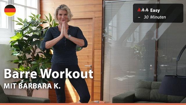 Barre Workout | 5/5/21 | Barbara
