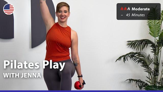 Pilates Play | 8/2/21 | Jenna