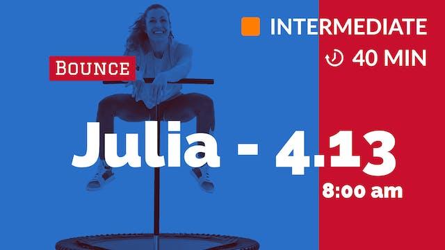 Freshenizer | 4/13/20 | Julia