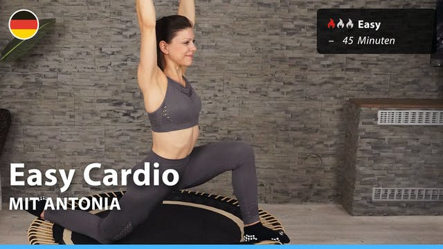 Easy Cardio | 6/25/21 | Antonia