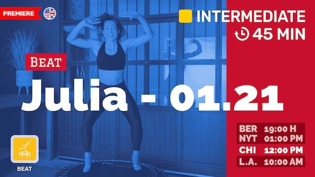Cardio Fit | 1/21/21 | Julia vK.