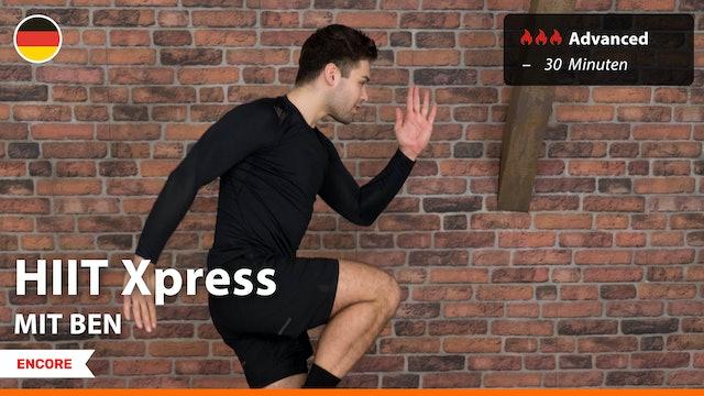 [ENCORE] HIIT Express | 8/21/21 | Ben