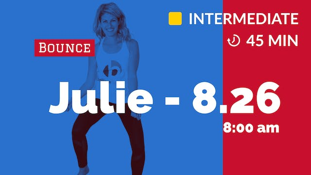 AM Endurance Bounce | 8/26/20 | Julie