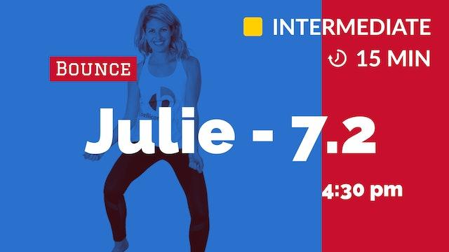 Cardio Inferno Blast! (15 minutes) | 7/2/20 | Julie