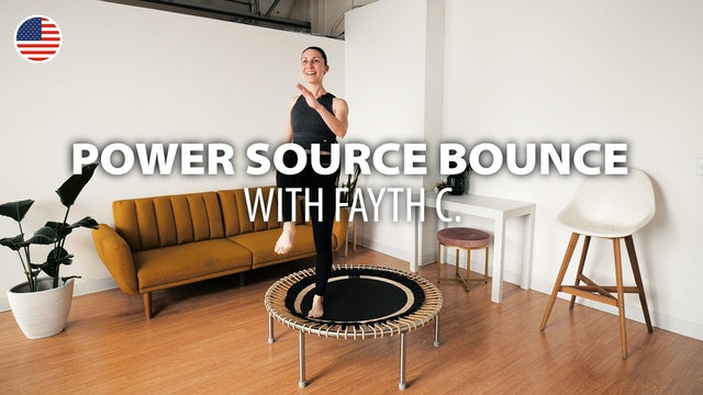 NEW: bellicon HOME Video of the week: POWER SOURCE BOUNCE with Fayth