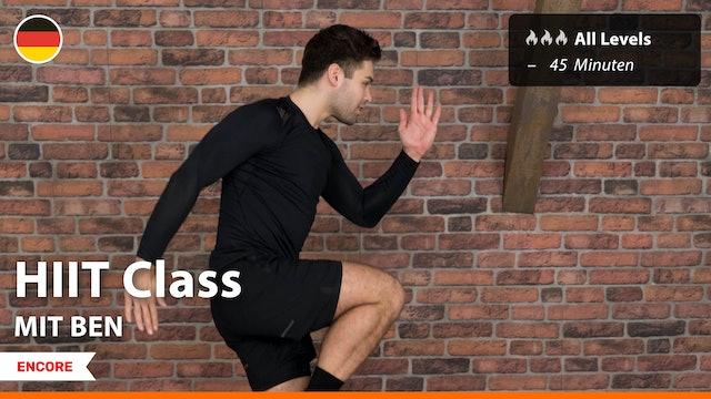 [ENCORE] HIIT Class | 9/25/21 | Ben