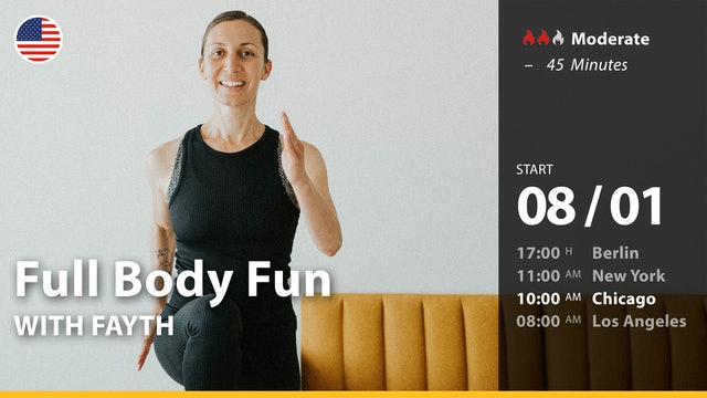 [PREMIERE] Full Body Fun | 8/1/21 | Fayth
