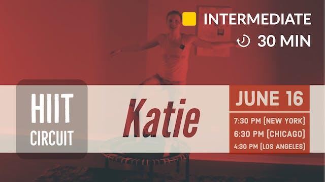 HIIT Buns + Biceps | 6/16/20 | Katie