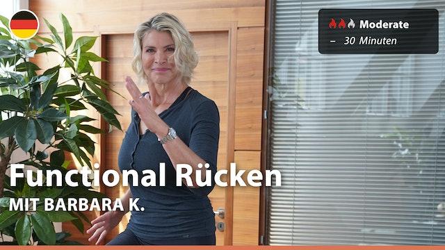 Functional Rücken | 3/31/21 | Barbara