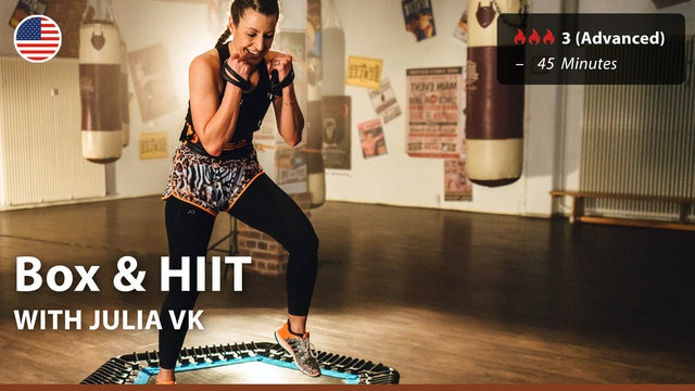 Box & HIIT | 9/29/21 | Julia vK.