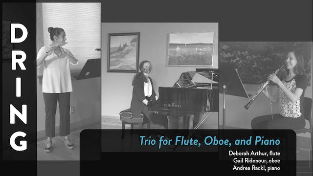 BSO Chamber Music - Dring Trio for Fl...