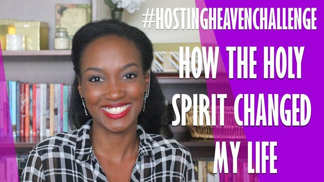 How The Holy Spirit Changed My Life