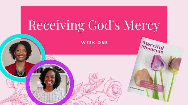 Receiving God's Grace [Week 1]