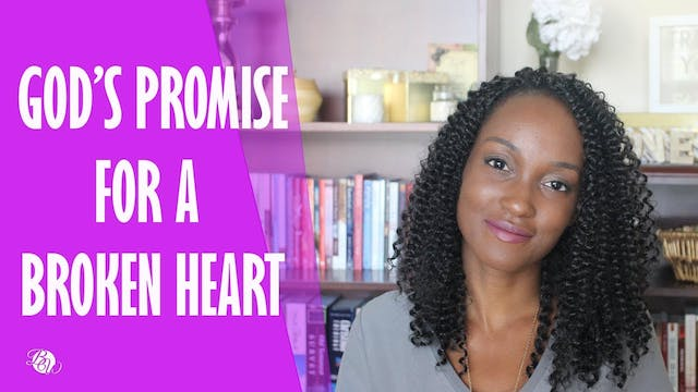 God's Promise For a Broken Heart [Mat...