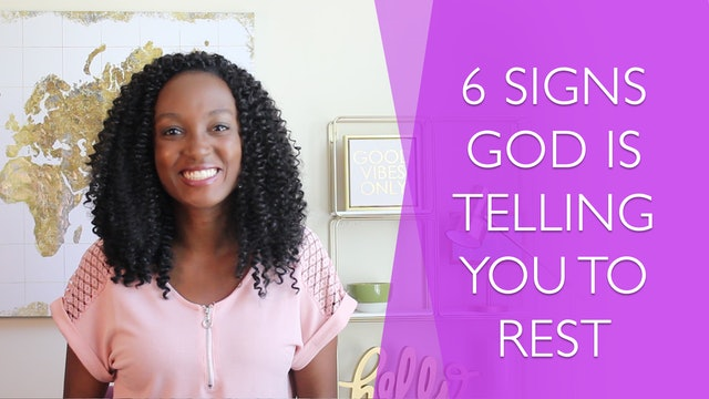 6 Signs God is Telling You to Rest