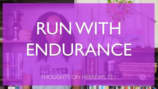 Run With Endurance Bible Study