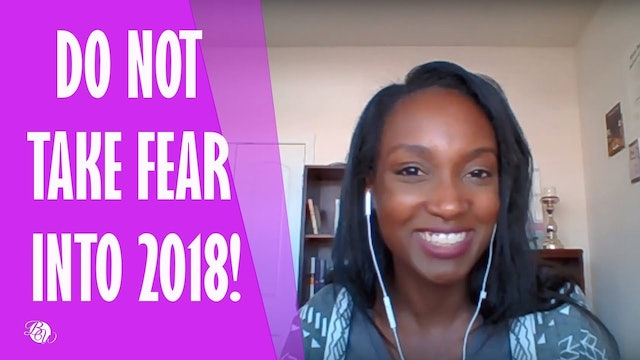 Do Not Take Fear Into Next Year