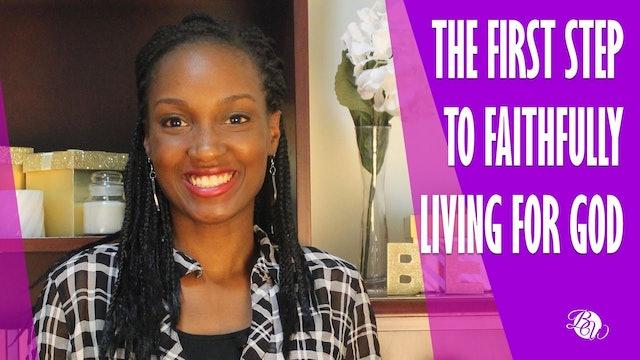 Faithfully Living For God [Unshaken Session 3]