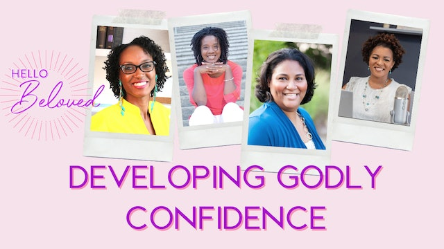 Developing Godly Confidence