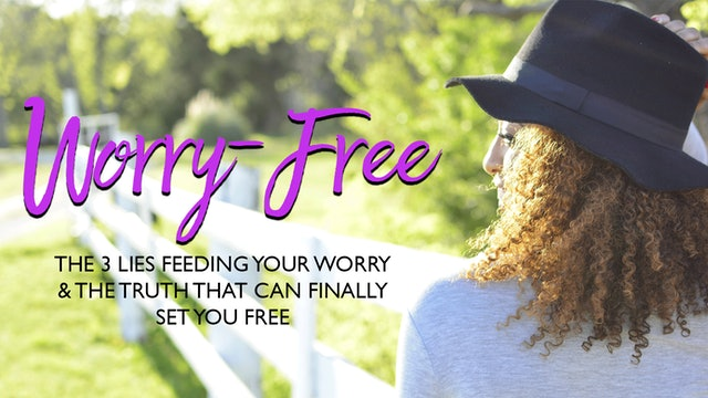 Worry Free PDF Prayer Guide