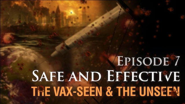 Safe and Effective: The Vax-seen and the Unseen, (video #7)