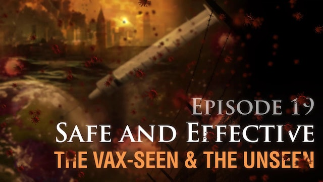 Safe and Effective: The Vax-seen and the Unseen, (video #19)