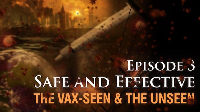 Safe and Effective: The Vax-seen and the Unseen, (video #3)