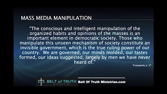 Media on the Brain, 2 - By Beholding: Slaves to the priests of a new religion