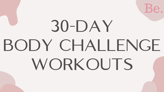 30-DAY BODY CHALLENGE