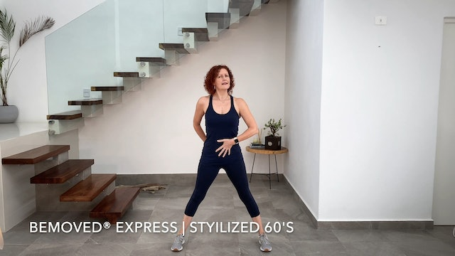 BeMoved® Stylized 60's | Express Level Two with Sarah