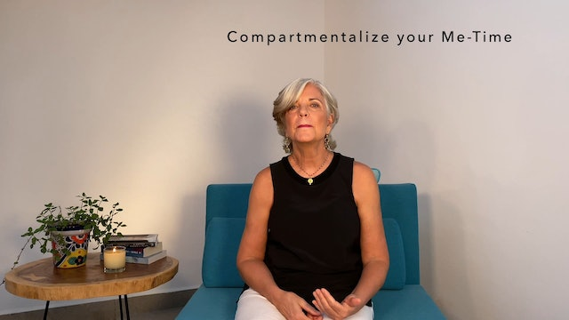 BeMoved & BeWell | Compartmentalize your Me-Time