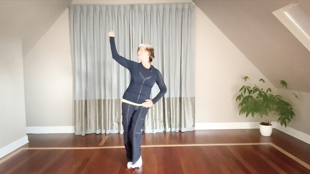 BeMoved® Back Up Singer Moves | Level Two with Sherry
