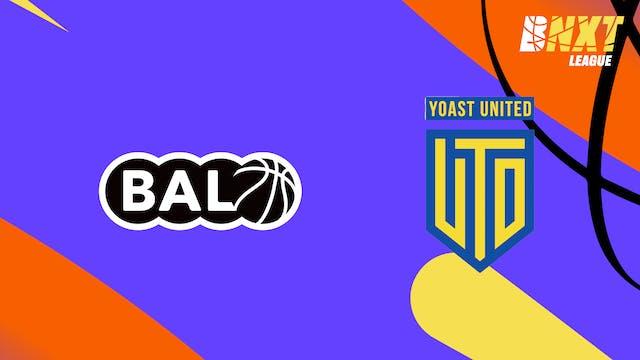 SAT 16 OCT. 20h00 // BAL vs YOA