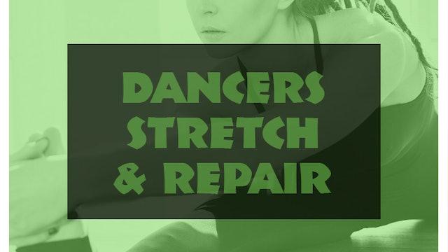 Dancers stretch and repair