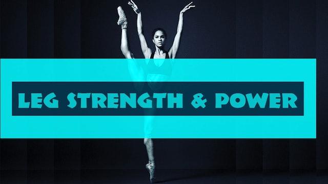 Leg Strength & Power workout